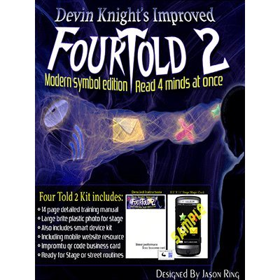 Four Told 2: Modern Symbol Edition by Devin Knight murphys