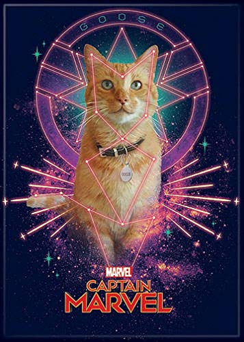 Goose Magnet - Ata-Boy Captain Marvel Movie Goose 2.5