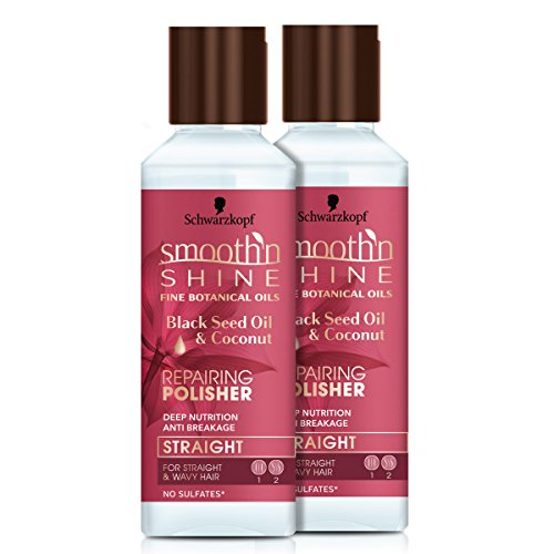Smooth 'n Shine Straight Repair Polisher for Straight Hair, 5 Ounce, 2 Count