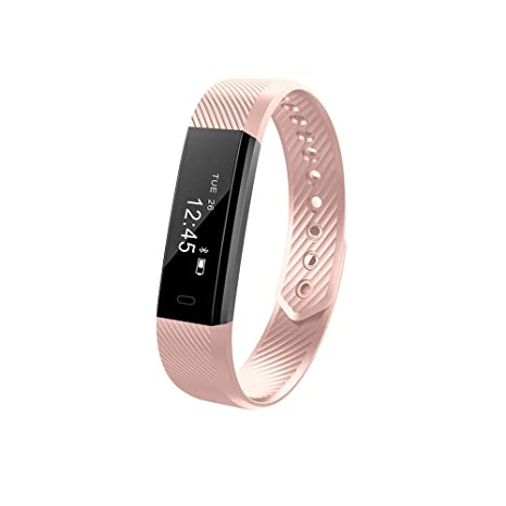 c94c6735bdfe GerTong Fitness Trackers, Impermeable ID115 Smart Pulsera de ...