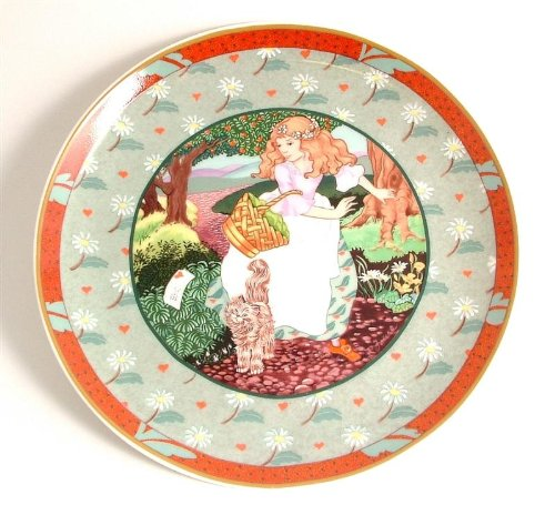 - Heinrich Villeroy and Boch Once Upon a Rhyme collection A Tisket A Tasket CP2