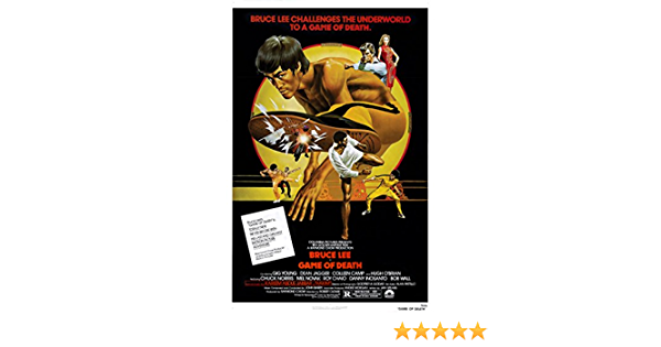 R097 The Game of Death Movie Kung Fu Bruce Lee8-Print Art Silk Poster