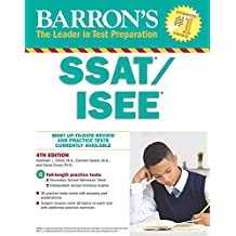 Barron's SSAT/ISEE: High School Entrance Examinations