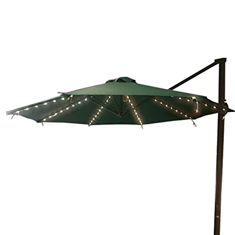 Patio Umbrella String Lights 104 Led 8 Modes With Remote Control
