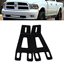 "QUAKEWORLD Front Hidden Bumper Mount Mounting Brackets for 20 22"" inch Single/Dual Row LED Work Light Bar Fit 2003-2016 Dodge Ram 2500 3500"
