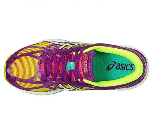 Womens Gel Trainer Silver Flash Yellow Purple Running DS Shoe 20 ASICS nR1xZRg
