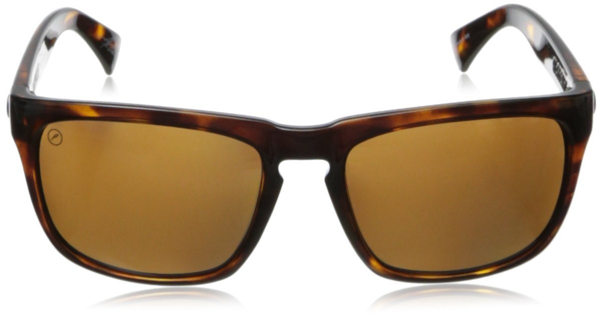Electric Visual Knoxville Gloss Tortoise/Polarized Bronze Sunglasses by Electric (Image #3)