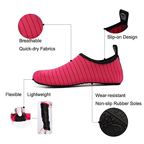 Exercise Beach Dry Quick Slip Barefoot Yoga Socks and Men Swim for Water Green Women Shoes Aqua Sports On xIY8A8