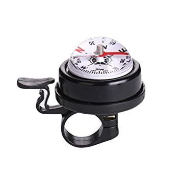 Popular Bike Cycling Sport Handlebar Compass Ring-down Horn Bicycle Bell Bells
