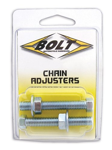 Adjuster Bolt - Bolt Motorcycle Hardware (2006-CH) Chain Adjuster Nut and Bolt Assembly