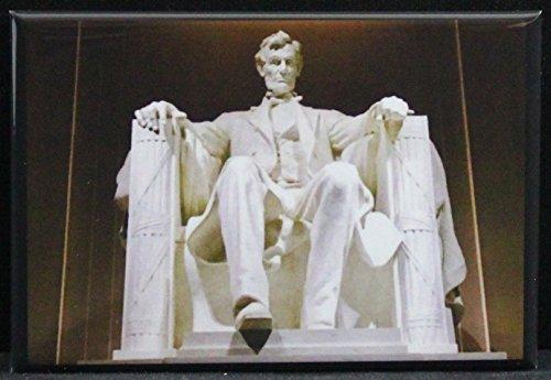 Lincoln Memorial Refrigerator Magnet. Washington DC