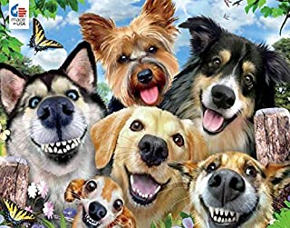 product image for Selfies Dog Delight Puzzle - 550Piece