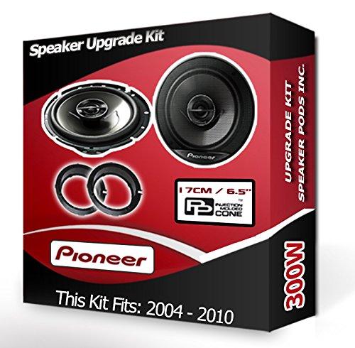 adapter rings pods 300W Ford Focus Front Door Speakers Pioneer car speakers