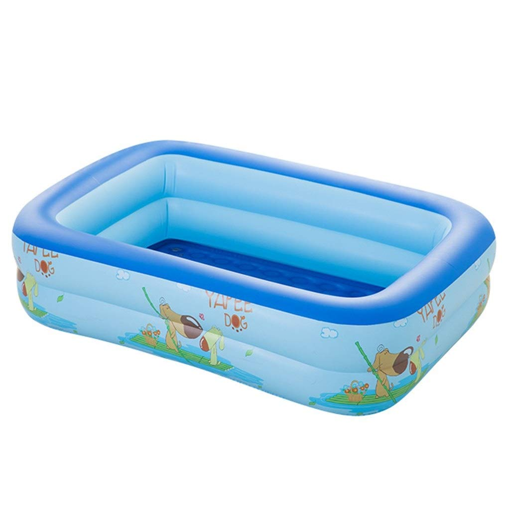 Drop-In Bathtubs Bathtub Baby Folding Bath Tub Tub Children's Bath Tub Can Sit On The Launder Swim Tub Home Dog Sprouting Bath Tub Improve Skin (Color : Blue, Size : 1189035cm)