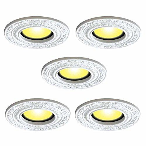 5 Spot Light Trim Medallions 6