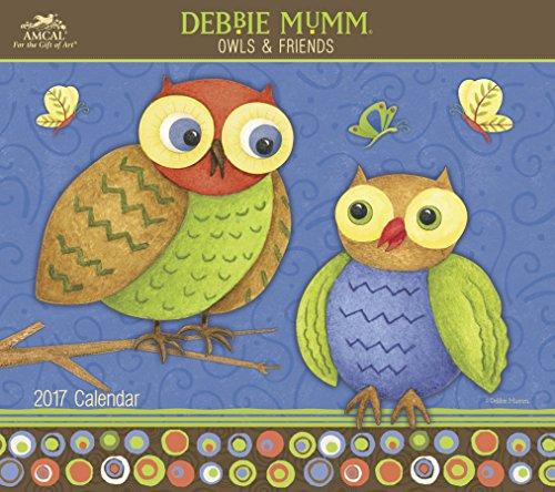 Debbie Mumm - Owls & Friends Wall Calendar (2017)