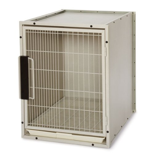 ProSelect Steel Modular Kennel Pet Cage, Large, Sandstone by Proselect (PRPQC)