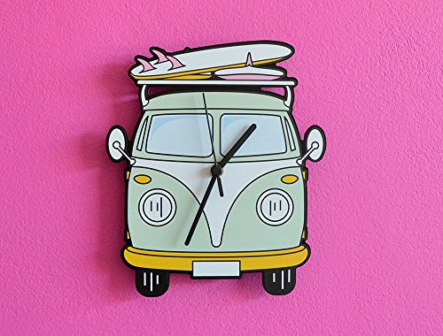 VW Camper Van - Wall Clock