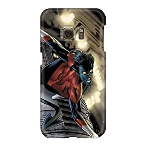 Shock Absorbent Hard Phone Cover For Samsung Galaxy S6 (yxo27544qmUN) Provide Private Custom Trendy Nightcrawler I4 Pictures
