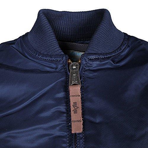 ALPHA Industries MA-1 VF 59 Women chaqueta Ocean Blue