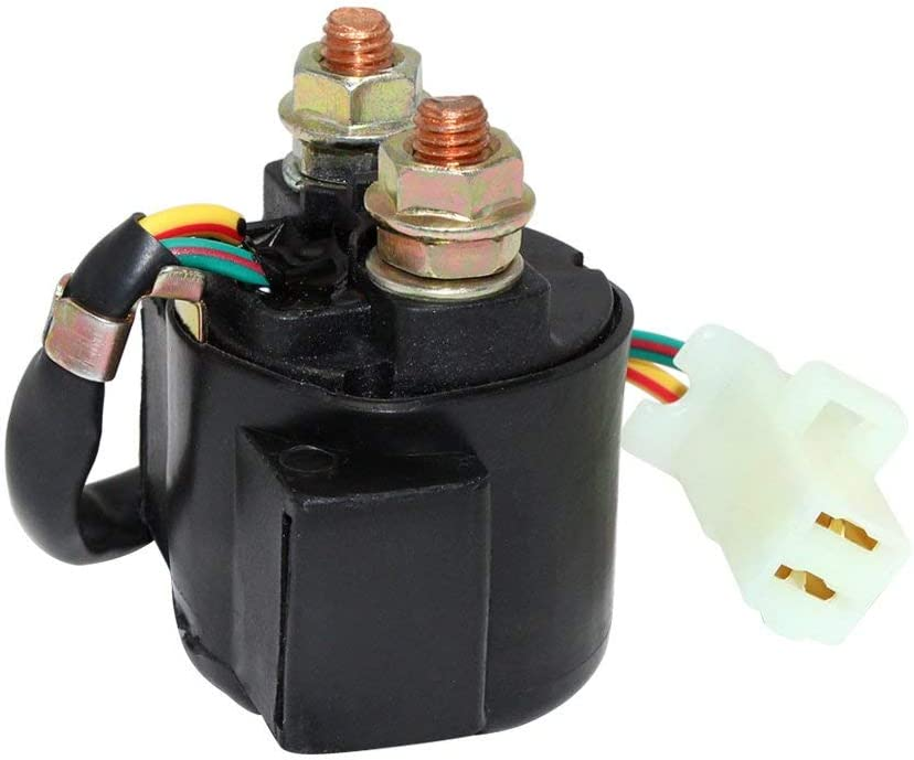 Starter Relay Solenoid for Yamaha YFM 50 80 100 125 200 225 250 300 350 400 Warrior Wolverine Raptor Grizzly Big Bear Badger Moto-4 Kodiak