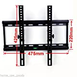 Excellent Removable TV Wall Bracket for 26-55 Inch LED LCD Plasma Flat TVs Super Strong 60KG Weight Capacity Max VESA 400X400mm