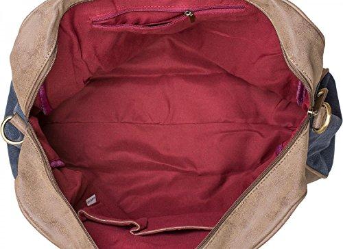 Tipo 02012083 Stylebreaker Rosas Cosida «shopper» Artificial Bolso De Palo Aplicaciones Señora Tela Color Bandolera Hombro Con Estrella Cuero Gris qq1tA6r