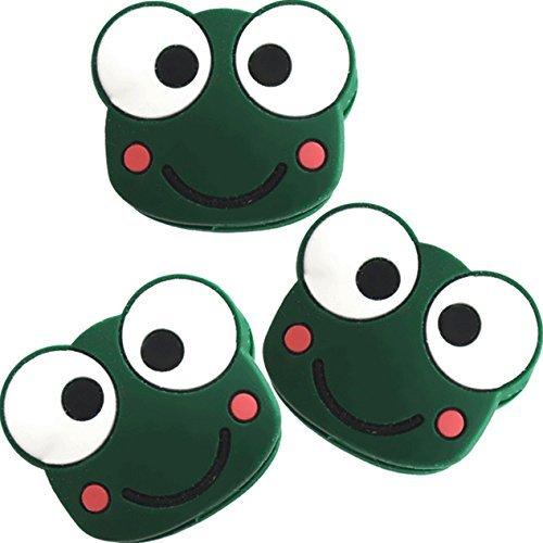 3 Frog Emoji Tennis Vibration Dampener Pro H102fx3