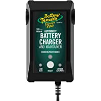Battery Tender Junior Charger and Maintainer: 12 Volt, 800mA Battery Charger for Lead Acid and Lithium Batteries…