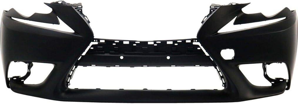 Front Bumper Cover For 2006 Lexus GS300 w// HLW//Park Sensor Holes Primed CAPA