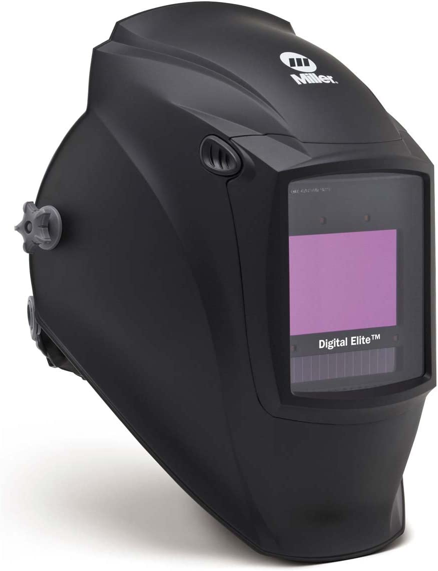 Miller 281000 Digital Elite Black Welding Helmet with ClearLight Lens
