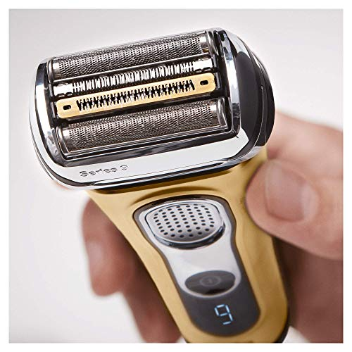 Braun Series 9 9299 Cc Afeitadora Electrica Hombre Wetdry Afeitadora Barba Con Estacion De Limpieza Y Carga Cleancharge Regalo Oro