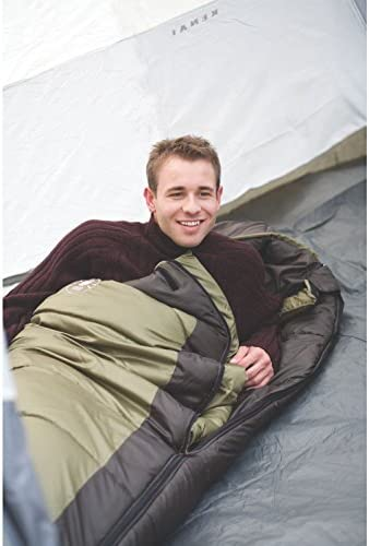 Coleman 0°F Mummy Sleeping Bag for Big and Tall Adults | North Rim Cold-Weather Sleeping Bag