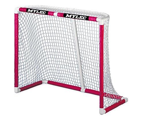 Mylec Deluxe Ultra Pro II Hockey Goal, White
