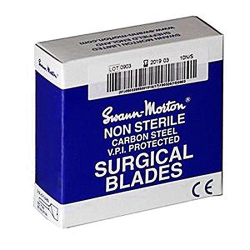 1 opinioni per Lame di bisturi non sterili n° 23 Swann Morton confezione da 100 unità