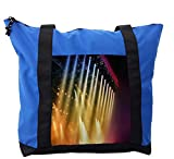Lunarable Musical Theatre Shoulder Bag, Concert Dance Music, Durable with Zipper