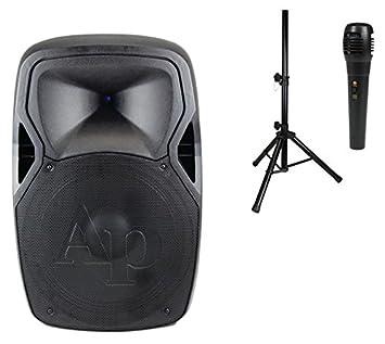 9b3551b95431e Amazon.com   STUDIO-Z Audiopipe Djap1564acmb Combo 15