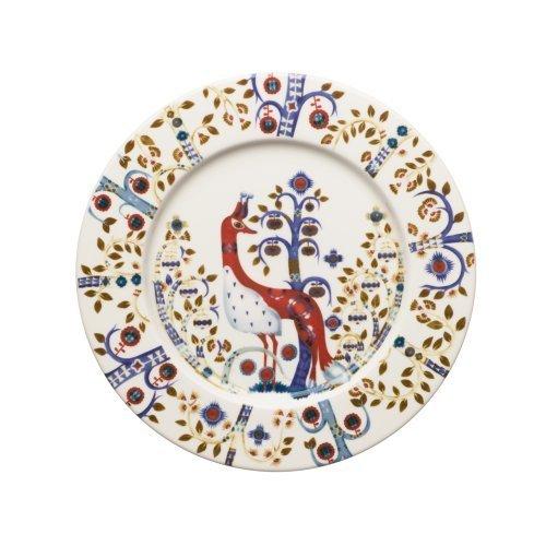 iittala Taika Salad Plate - White/Blue by iittala