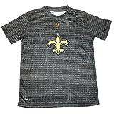 NO Saints Boys Athletic Crew-Neck Dri-Tek T-Shirt