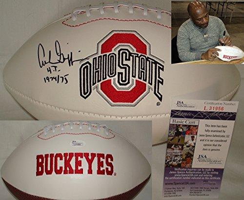Archie Griffin Hand Signed / Autographed Ohio State Buckeyes Logo Football - JSA
