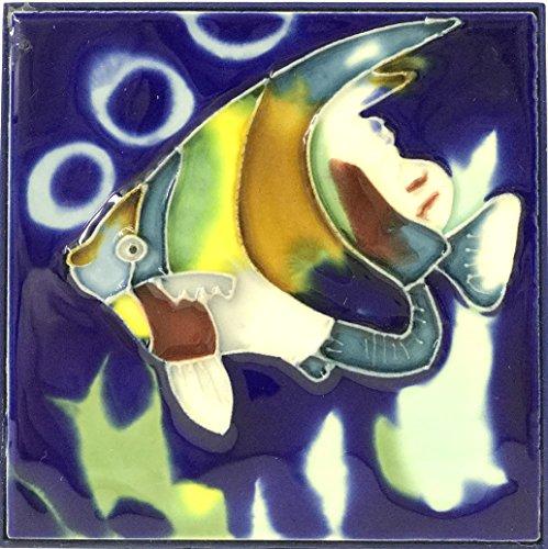 12 x 12 Rikki Knight Red Parrot Design Ceramic Art Tile