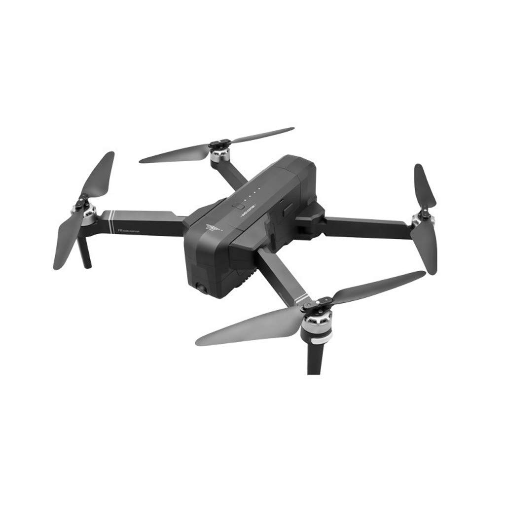 MOZATE New SJRC F11 GPS 5G WiFi FPV 1080P HD Cam Foldable Brushless RC Drone Quadcopter (Black) by MOZATE (Image #1)