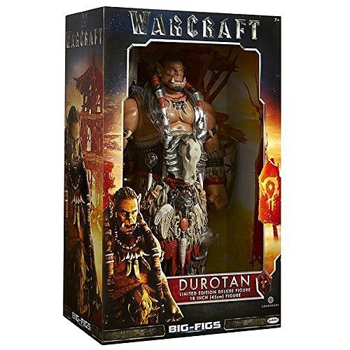 Warcraft Limited Edition Durotan Deluxe Action Figure, 18""