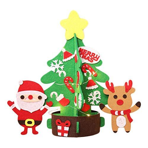 Yellowstone Mini Pendant - Nadition Christmas Decorations  1 PC Fashion DIY Non-Woven Mini Christmas Tree Ornaments Xmas Party Home Decoration