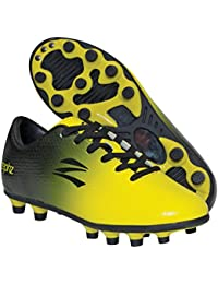 Wide Traxx Black/Yellow Soccer Cleat Adult