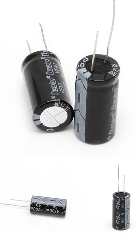 16 mm 35V 470uF Condensateurs /électrolytiques en aluminium de haute qualit/é Original 50pcs lot 470uf 35v 10
