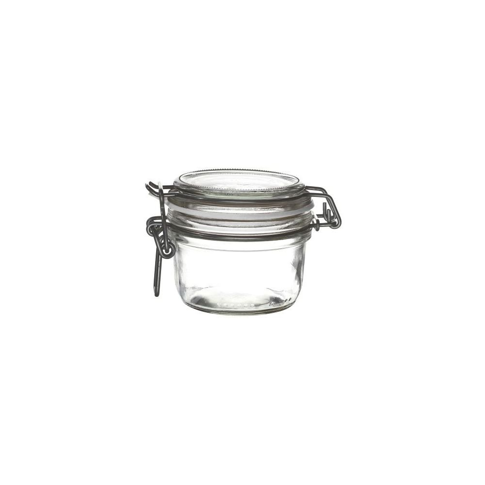 Bormioli Rocco 4949Q459 6 Oz Fido Jar With White Gasket - 12 / CS