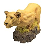 Cheap Design Toscano Lioness on the Prowl Statue