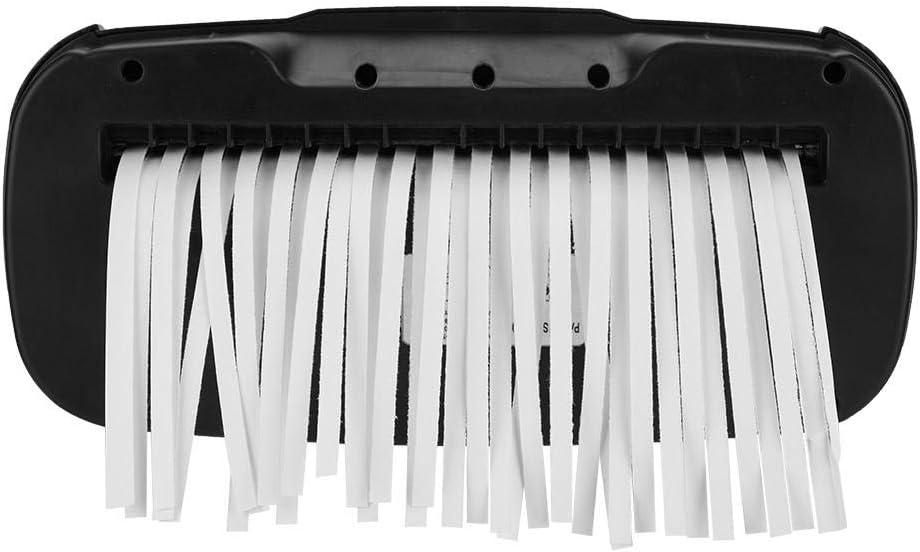 Home Office Electric Paper Shredder Machine for Paper and Credit Card Strip Cut Destroy 220V UK plug 32.5 x 29 x 14cm