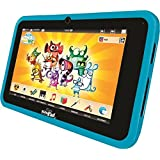 Videojet 5071 - KidsPad 4 bleue (tablette tactile pour enfant + protection en silicone)